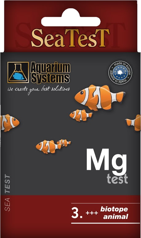 Aquarium Systems SEATEST MG - 40 Tests