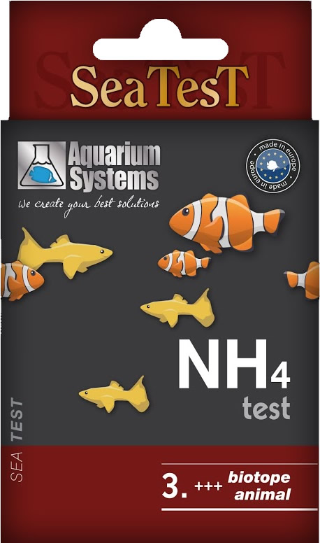 Aquarium Systems SEATEST NH4 - 40 Tests