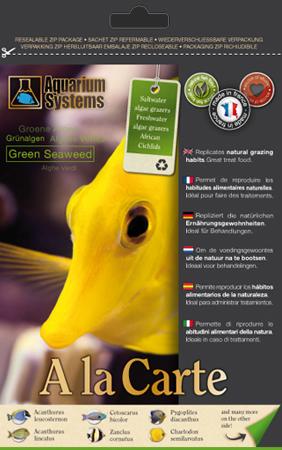 Aquarium Systems Green Seaweed - Gr�ne Algen 12 g
