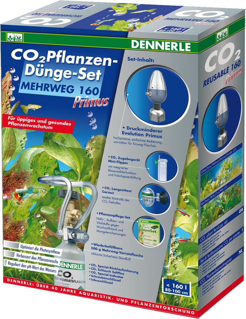 Dennerle CO2 Pflanzen-D�nge-Set Mehrweg 160 Primus