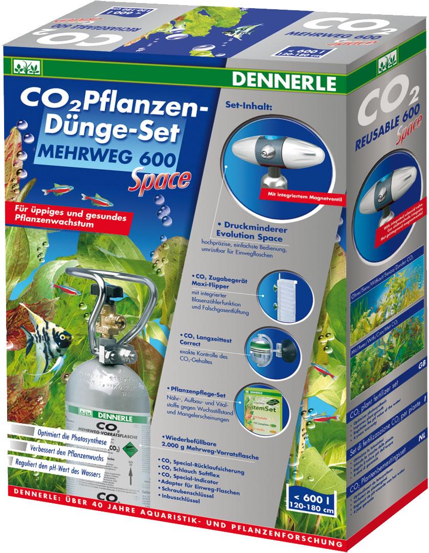 Dennerle CO2 Pflanzen-D�nge-Set Mehrweg 600 Space