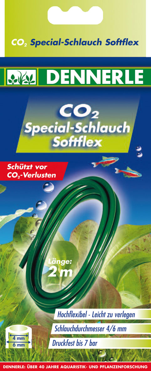 Dennerle Profi-Line CO2 Schlauch Softflex 2 m
