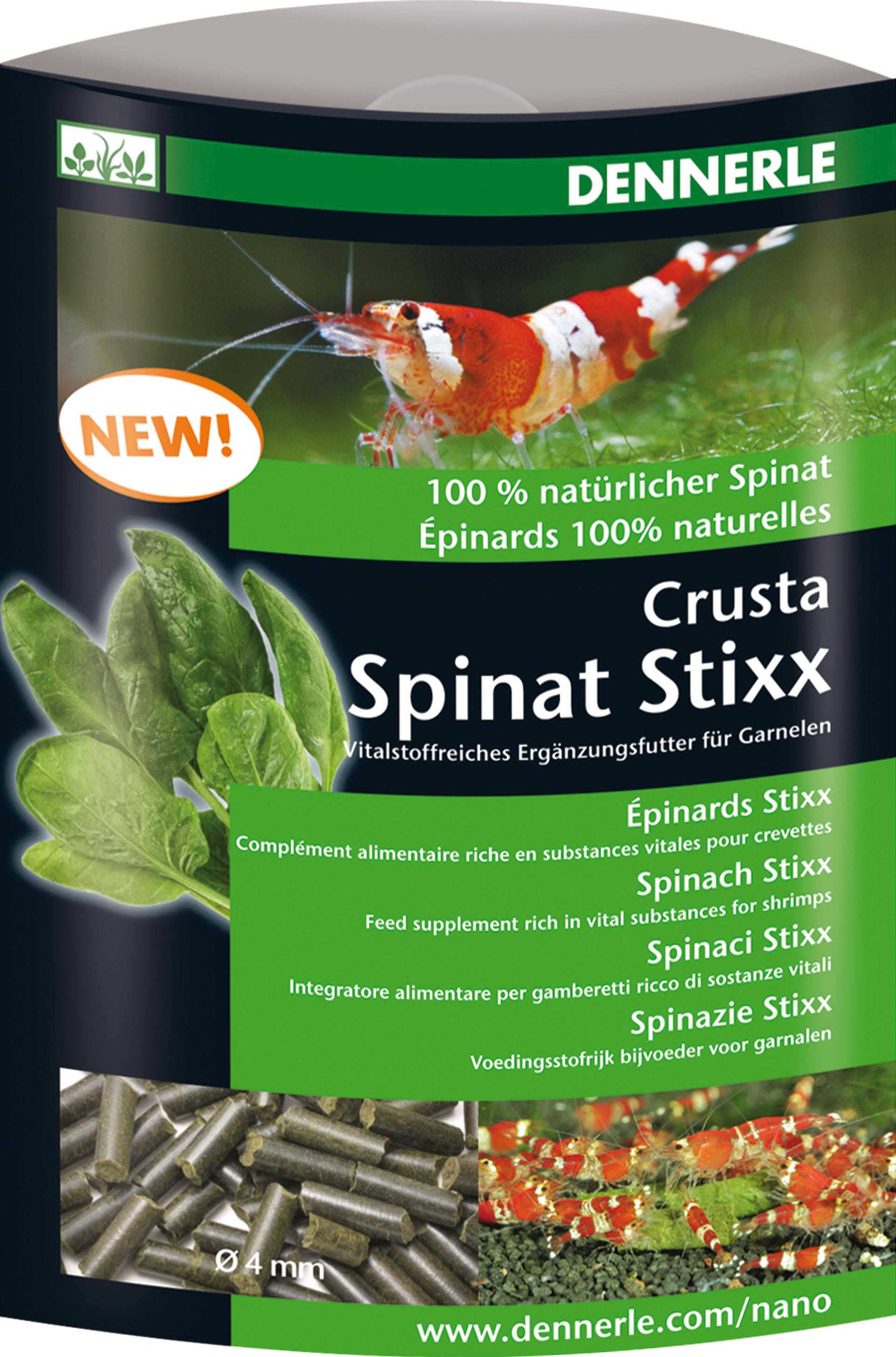 Dennerle Crusta Spinat Stixx - 30 g