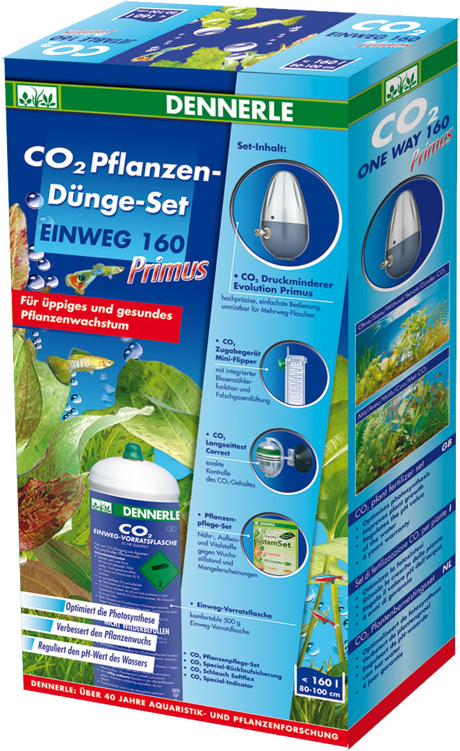 Dennerle CO2 Pflanzen-D�nge-Set Einweg 160 Primus