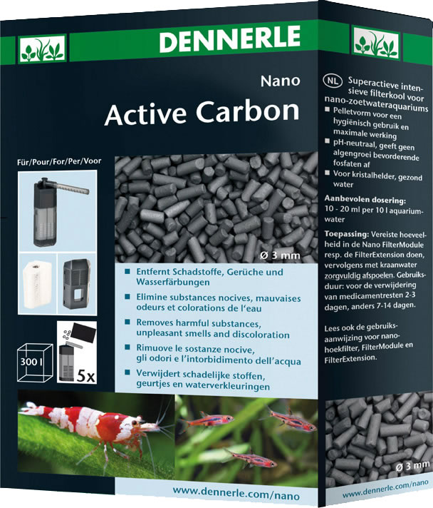 Dennerle Nano ActiveCarbon - 300 ml