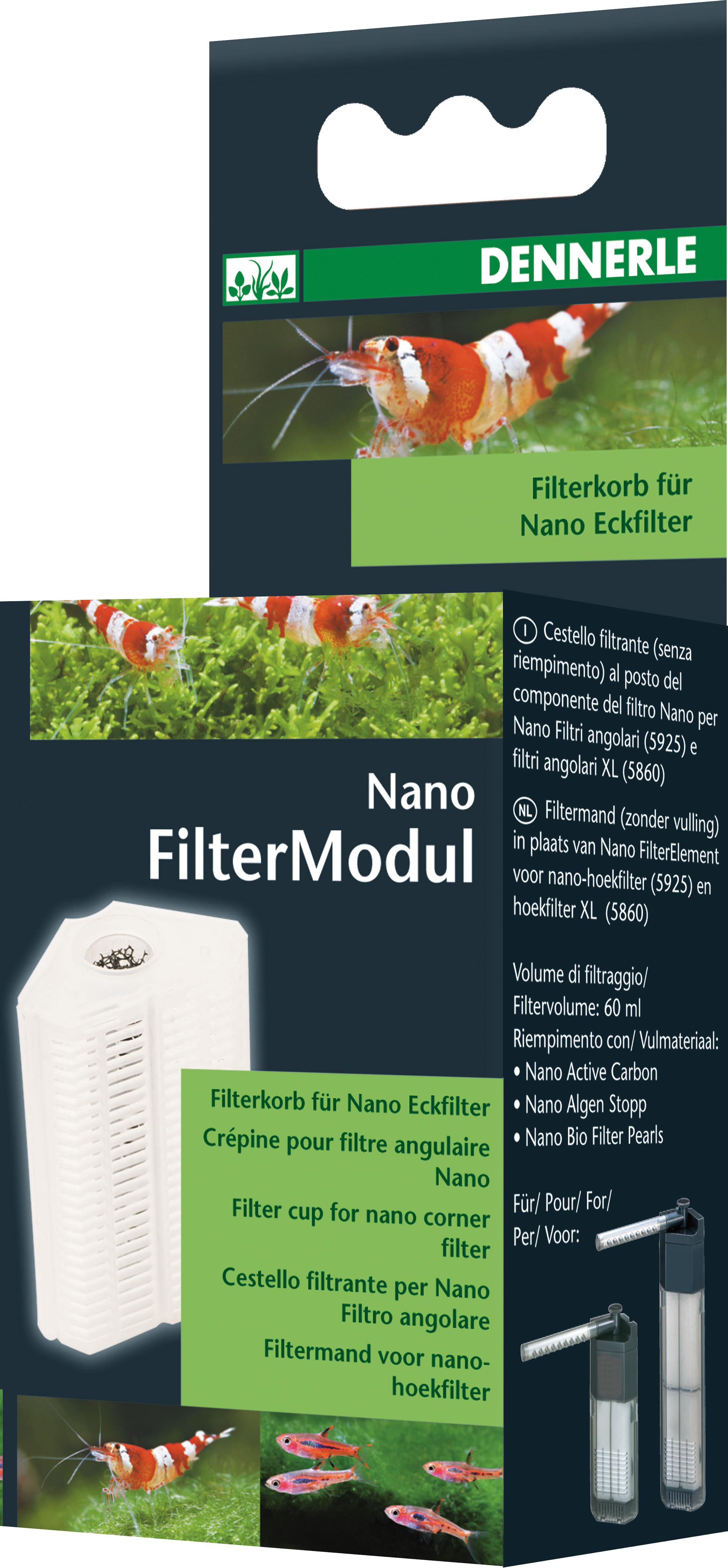 Dennerle Nano FilterModul f�r Dennerle Nano Eckfilter
