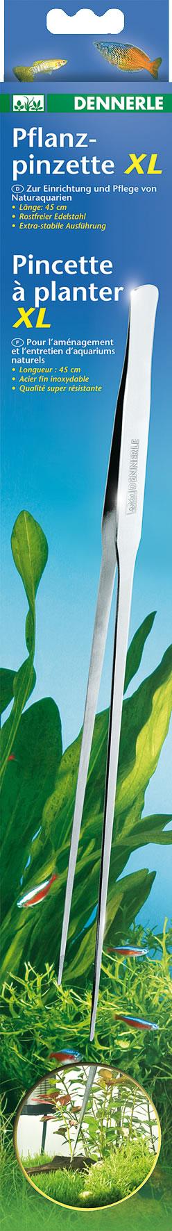 Dennerle Pflanzpinzette XL - 45 cm lang
