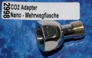 Crystal-Line CO2-Adapter Nano Druckminderer auf Mehrwegflasche