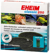 EHEIM Aktivkohlevlies f�r Au�enfilter classic
