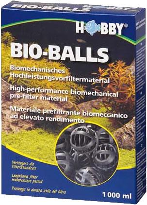 Hobby Bio-Balls Vorfiltermaterial - 1000 ml