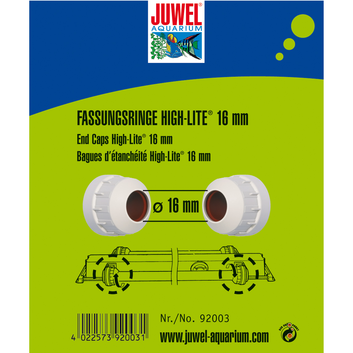 Juwel Fassungsringe High Lite T5