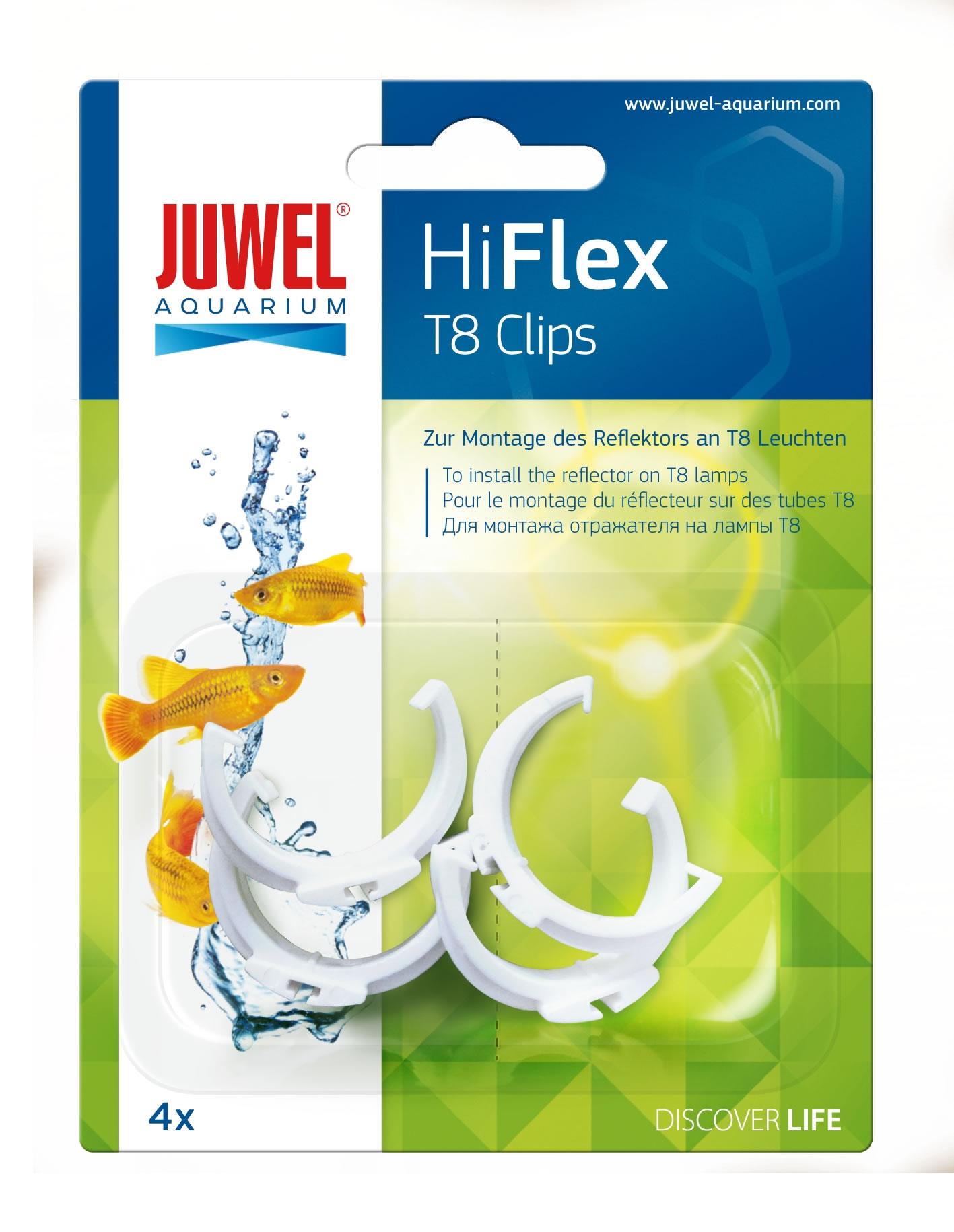 juwel reflektor clips f r t8 hiflex reflektoren 4 st ck 26 mm. Black Bedroom Furniture Sets. Home Design Ideas