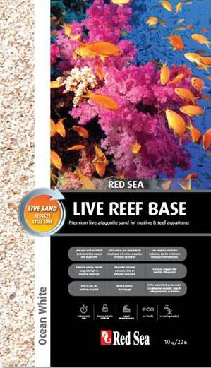 Red Sea Live Reef Base Bodengrund Reef White 10 kg