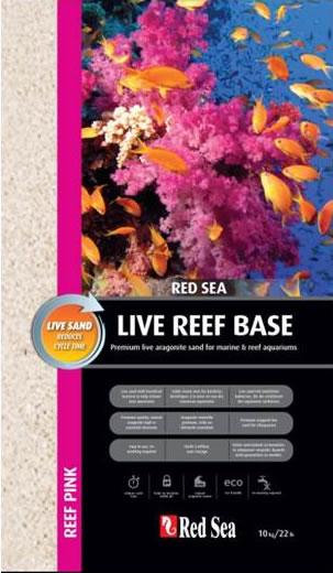 Red Sea Live Reef Base Bodengrund Reef Pink 10 kg