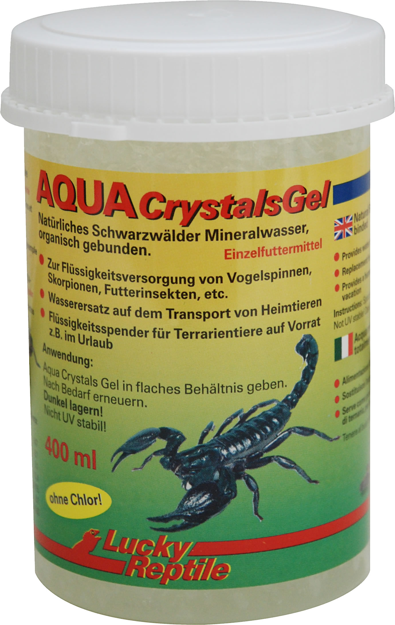 Lucky Reptile Aqua Crystals Gel - 400 ml