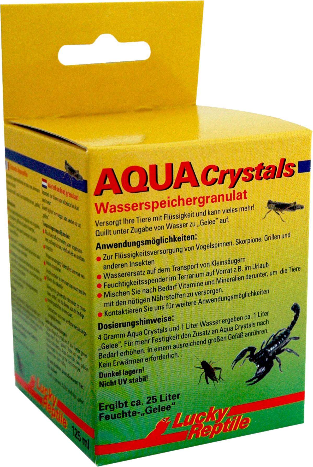 Lucky Reptile Aqua Crystals - 125 g