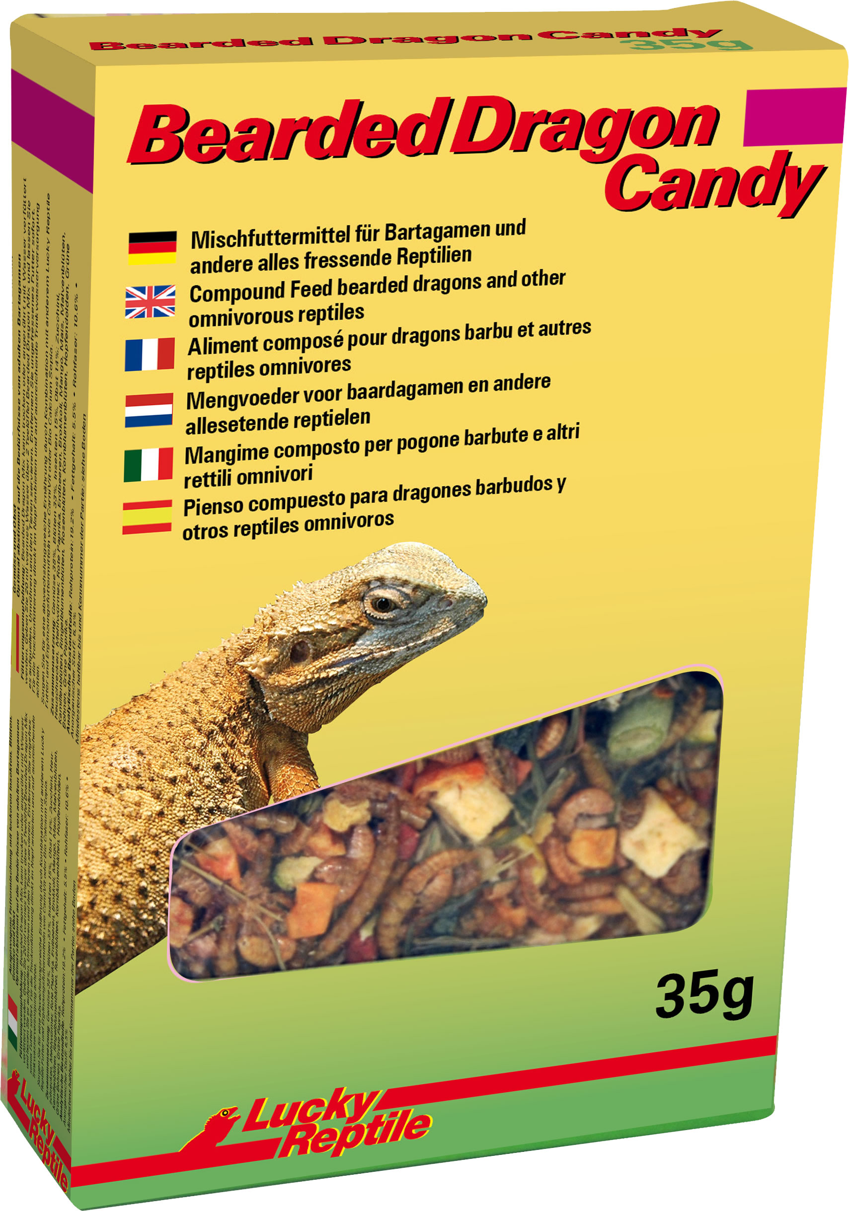 Lucky Reptile Bearded Dragon Candy 35 g