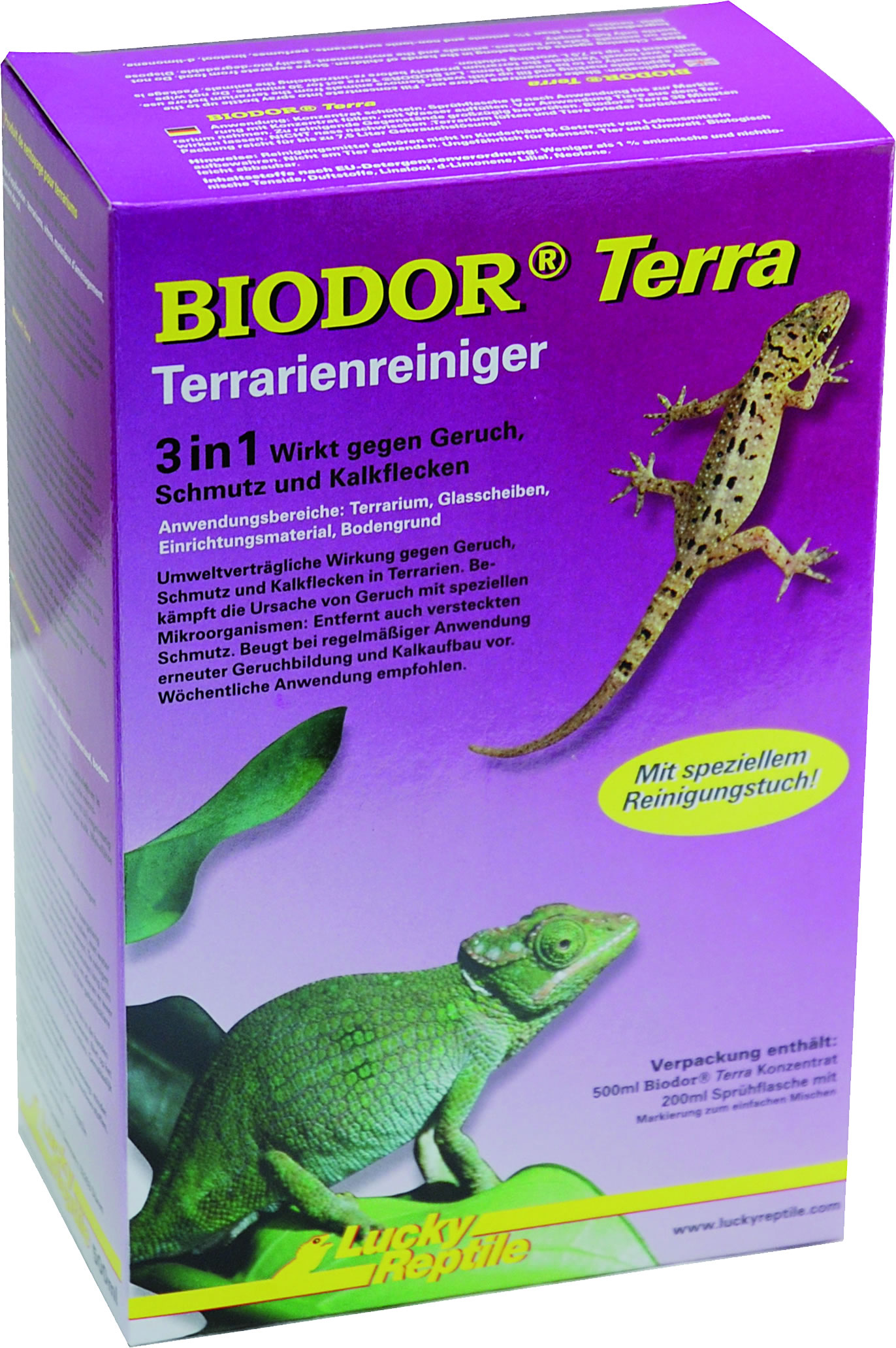 Lucky Reptile BIODOR Terra Terrarienreiniger - 500 ml
