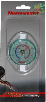 Lucky Reptile Glas Thermometer