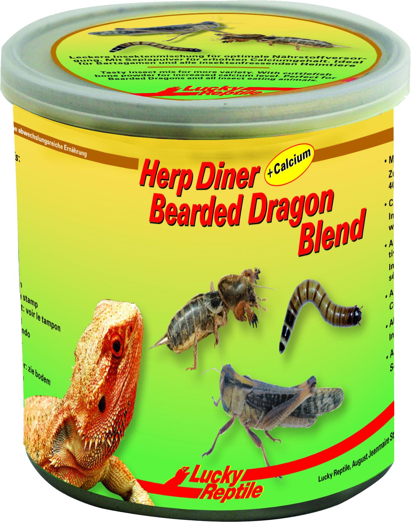 Lucky Reptile Herp Diner Bearded Dragon Blend - 70 g