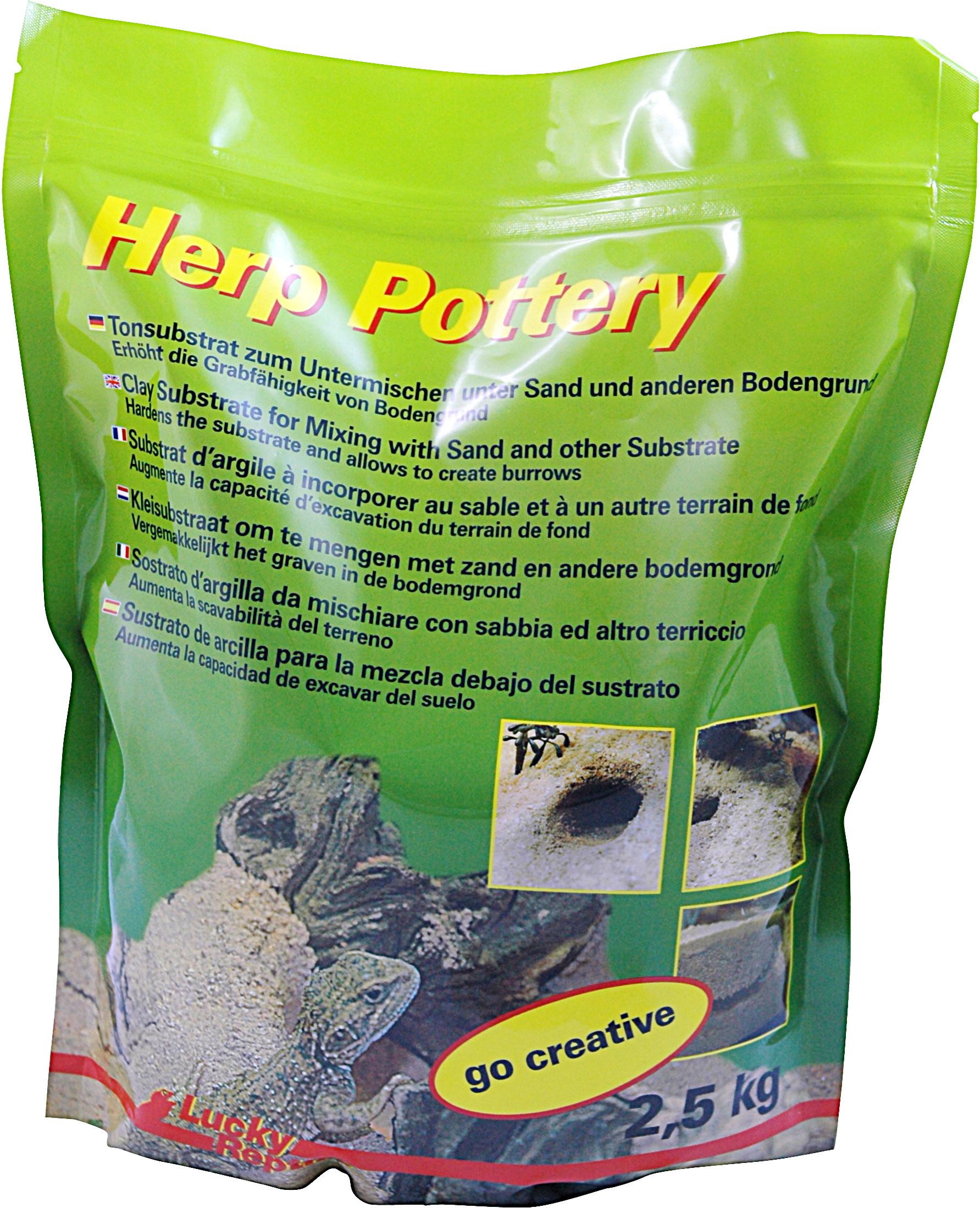Lucky Reptile Herp Pottery Tongranulat - 2,5 kg