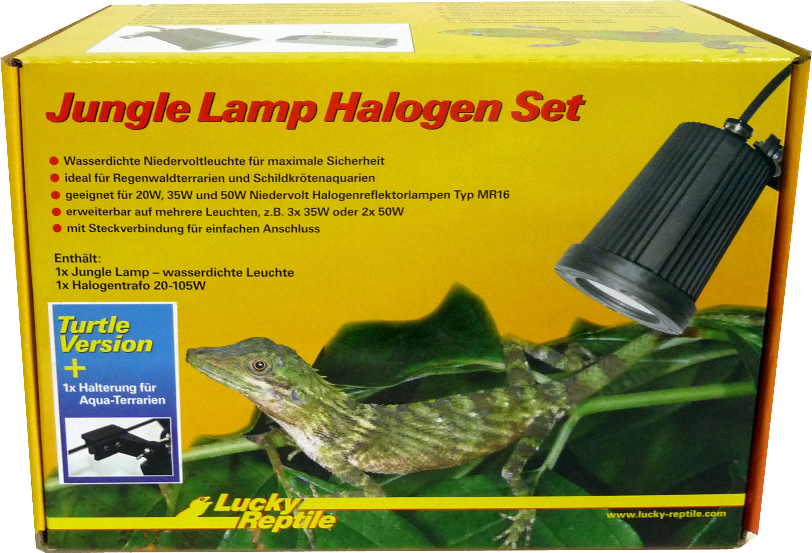 Lucky Reptile Jungle Lamp Set Turtle