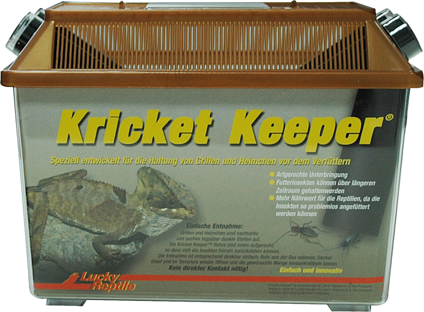 Lucky Reptile Kricket Keeper groß