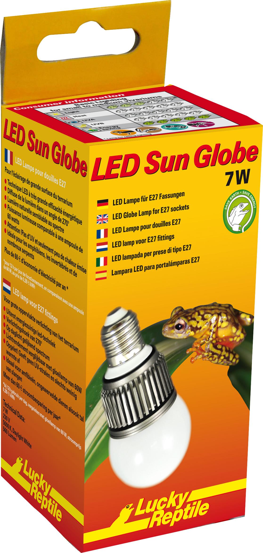 Lucky Reptile LED Sun Globe - 7 W