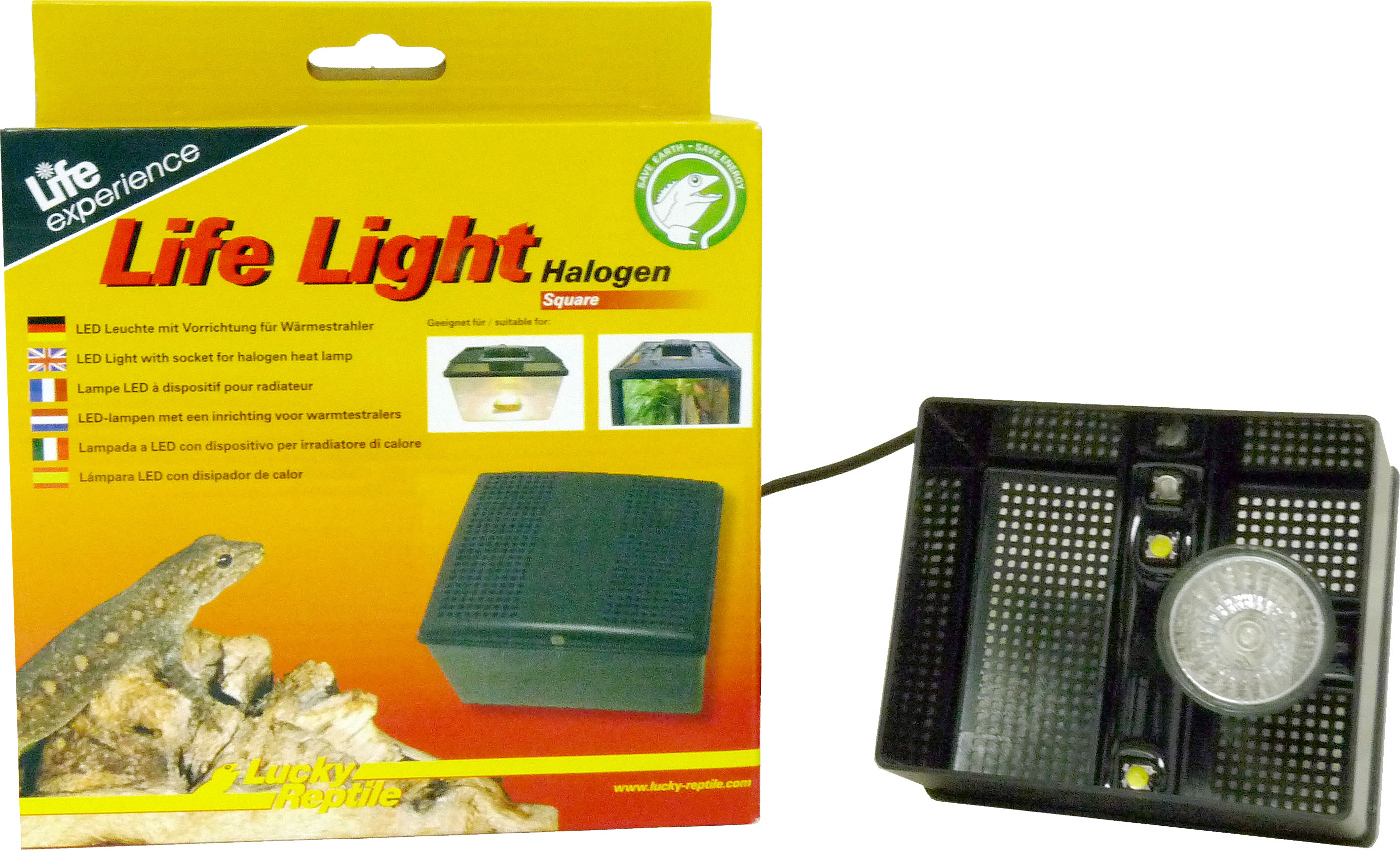 Lucky Reptile Life Light Halogen