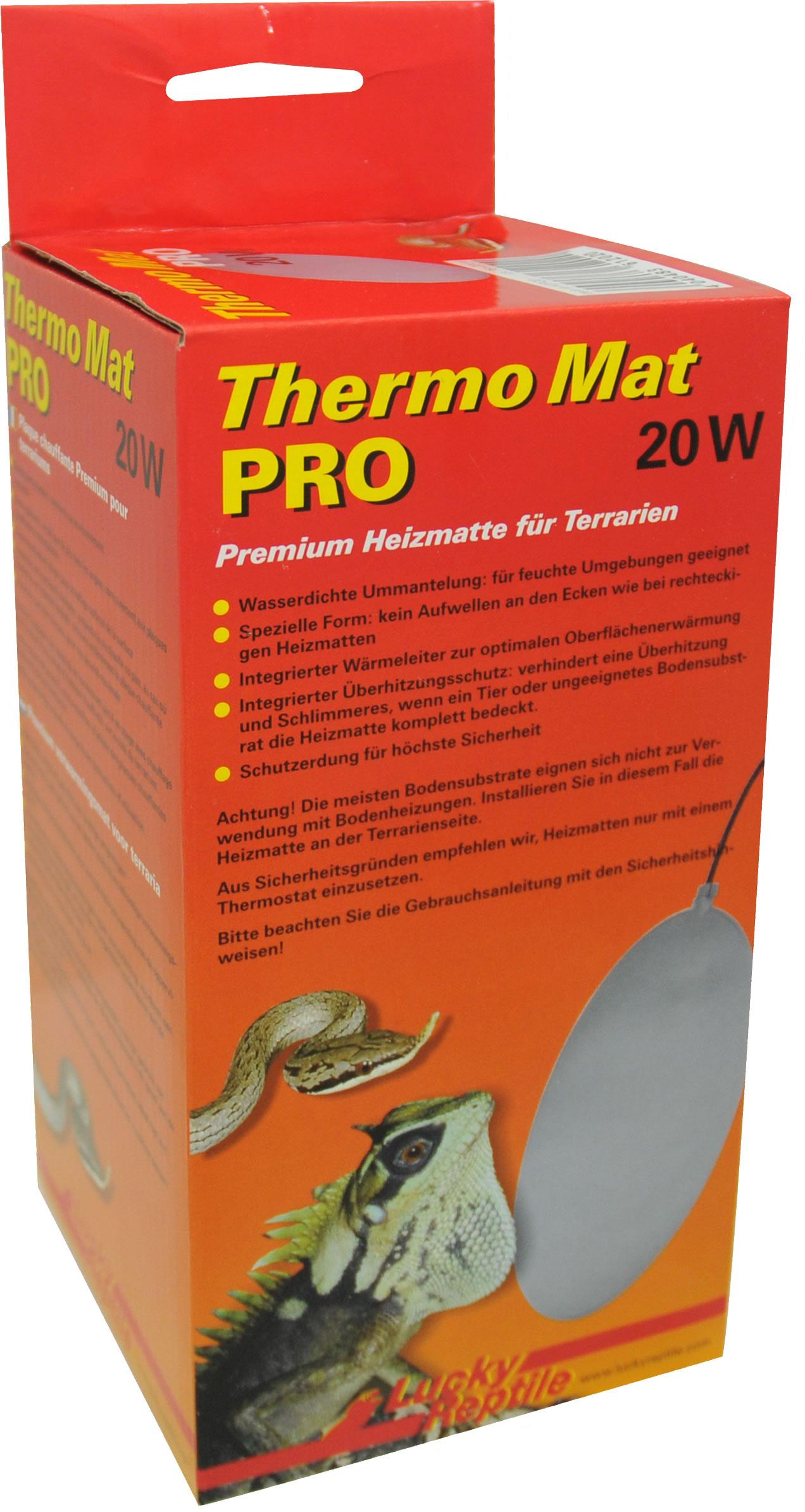 lucky-reptile-thermo-mat-pro-20w-61202 Frais De Tuyau Aquarium Des Idées