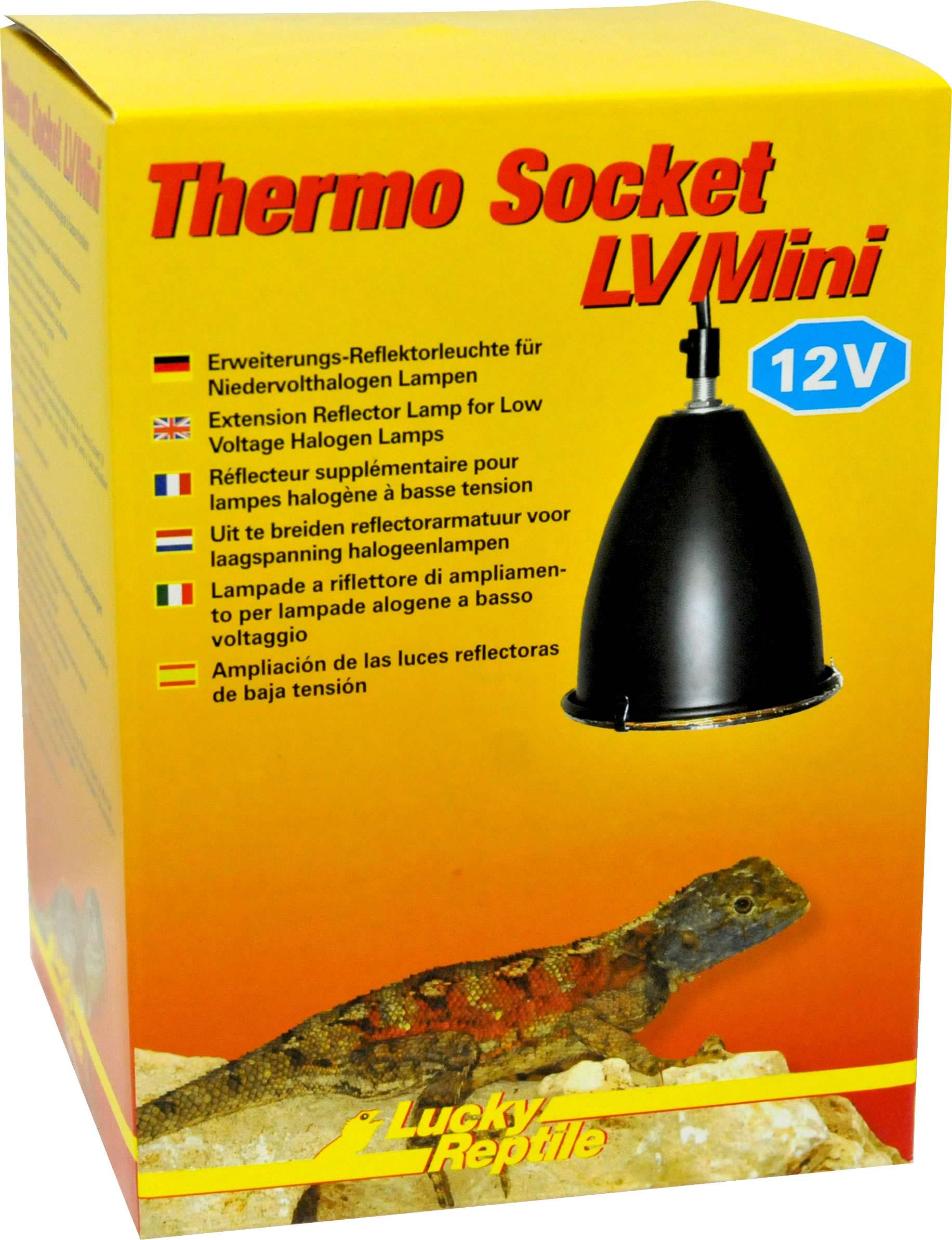 Lucky Reptile Thermo Socket LV Mini