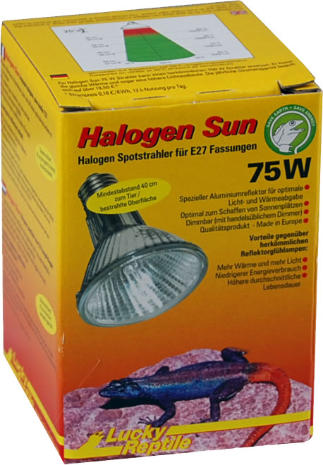 Lucky Reptile Halogen Sun