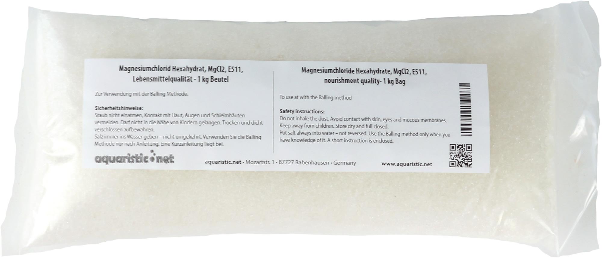 Magnesiumchlorid Hexahydrat, MgCl2, E511, Lebensmittelqualität