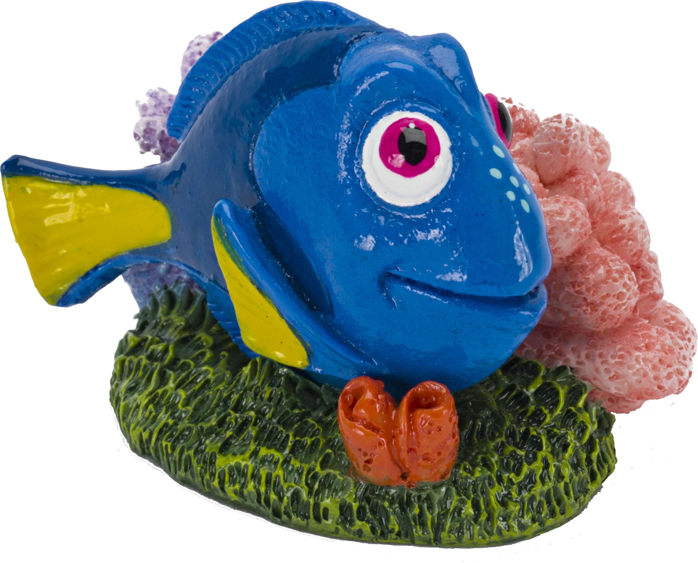 Dekorationen Penn-plax Dory Mit Koralle Mittel Fische & Aquarien