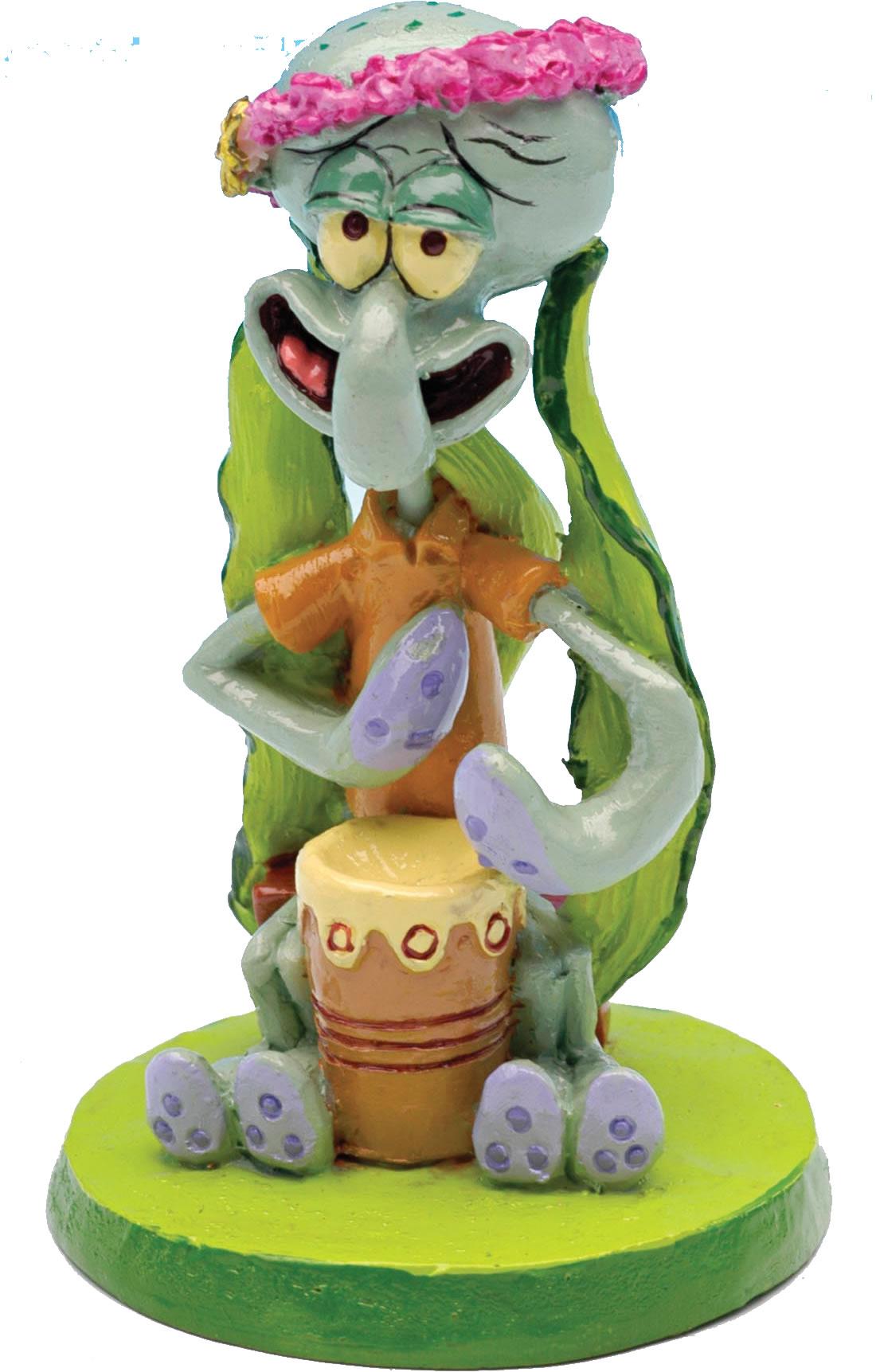 SpongeBob Aquariendeko Figur - Thadd�us