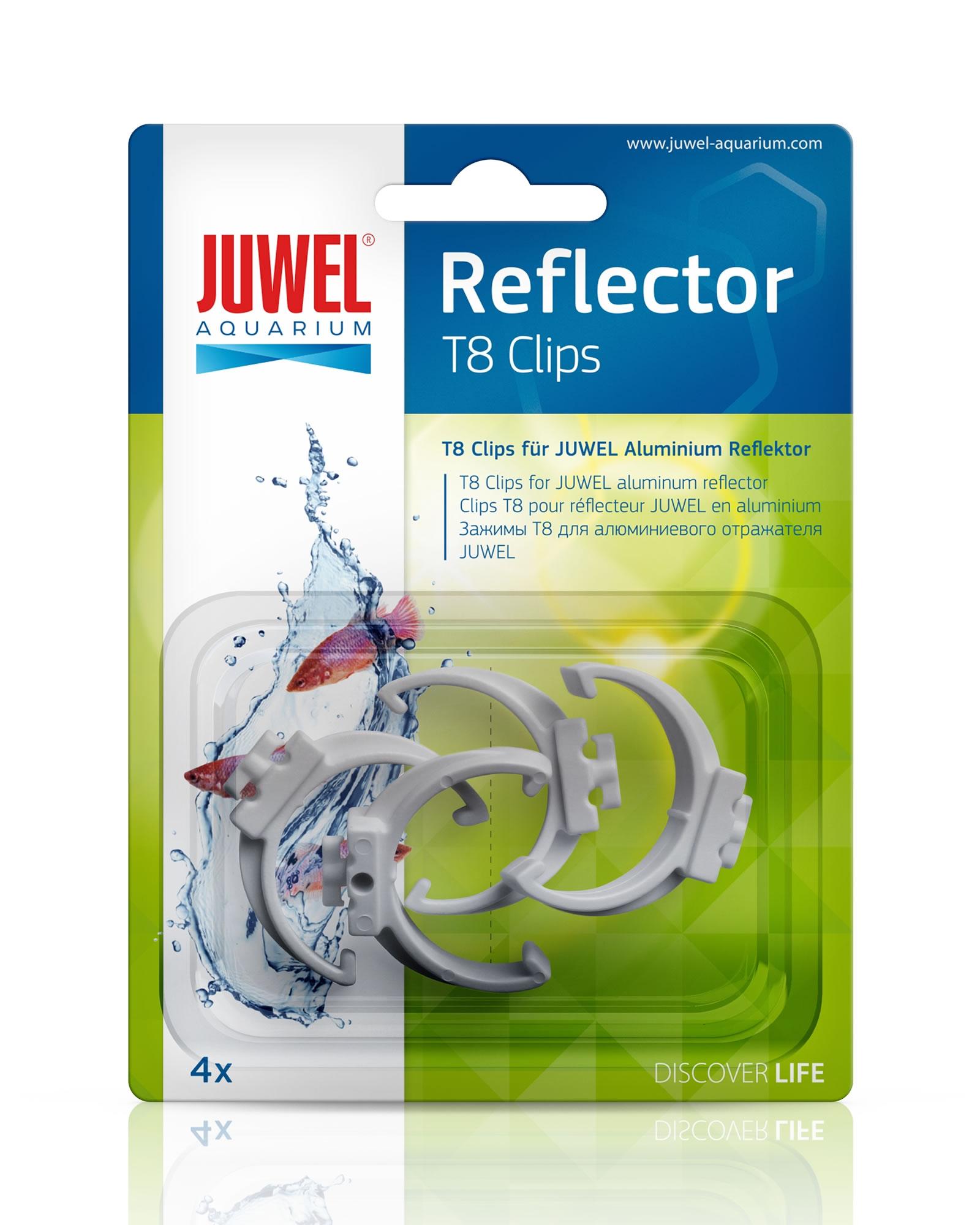 juwel reflektor clips f r t8 reflektoren 4 st ck 26 mm. Black Bedroom Furniture Sets. Home Design Ideas