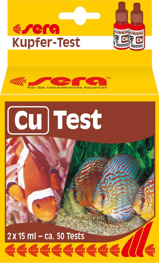 sera Kupfer Cu - Test