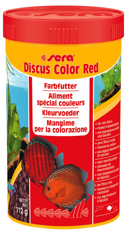 Sera discus color red 250 ml for Aspirarifiuti sera gravel cleaner
