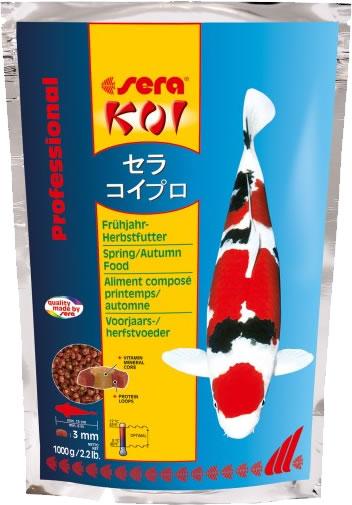 sera KOI Professional Frühjahr- und Herbstfutter