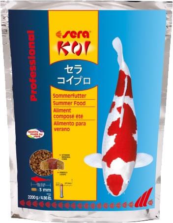 sera KOI Professional Sommerfutter