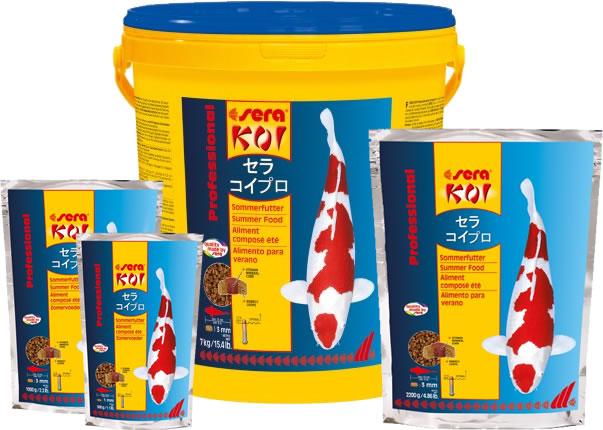 Aquaristic Net Sera Koi Professional Summer Food