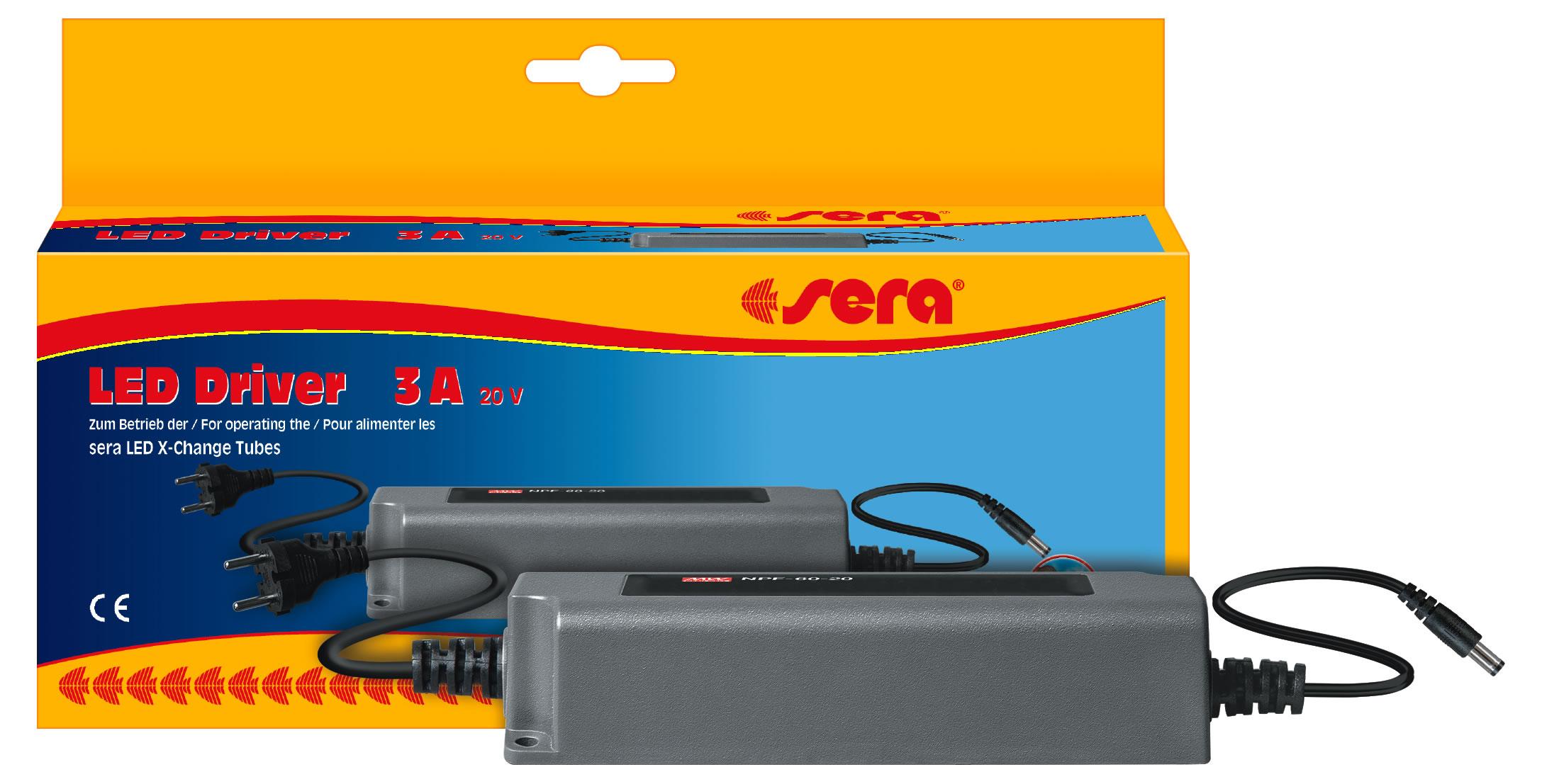 Sera led ballast 20 v dc for Aspirarifiuti sera gravel cleaner