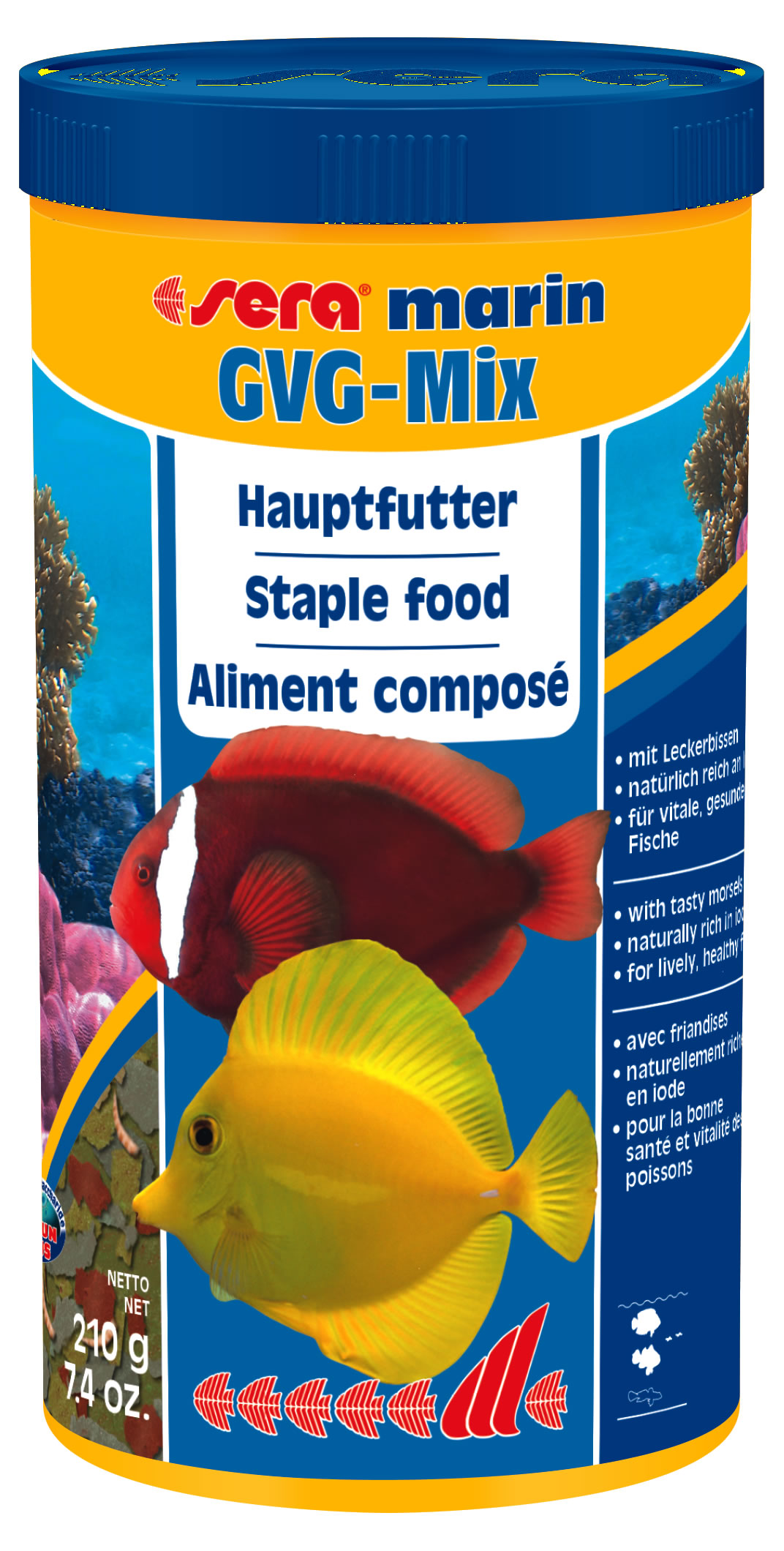 sera-marin-gvg-mix-1000 Frais De Aquarium Recifal Complet Concept