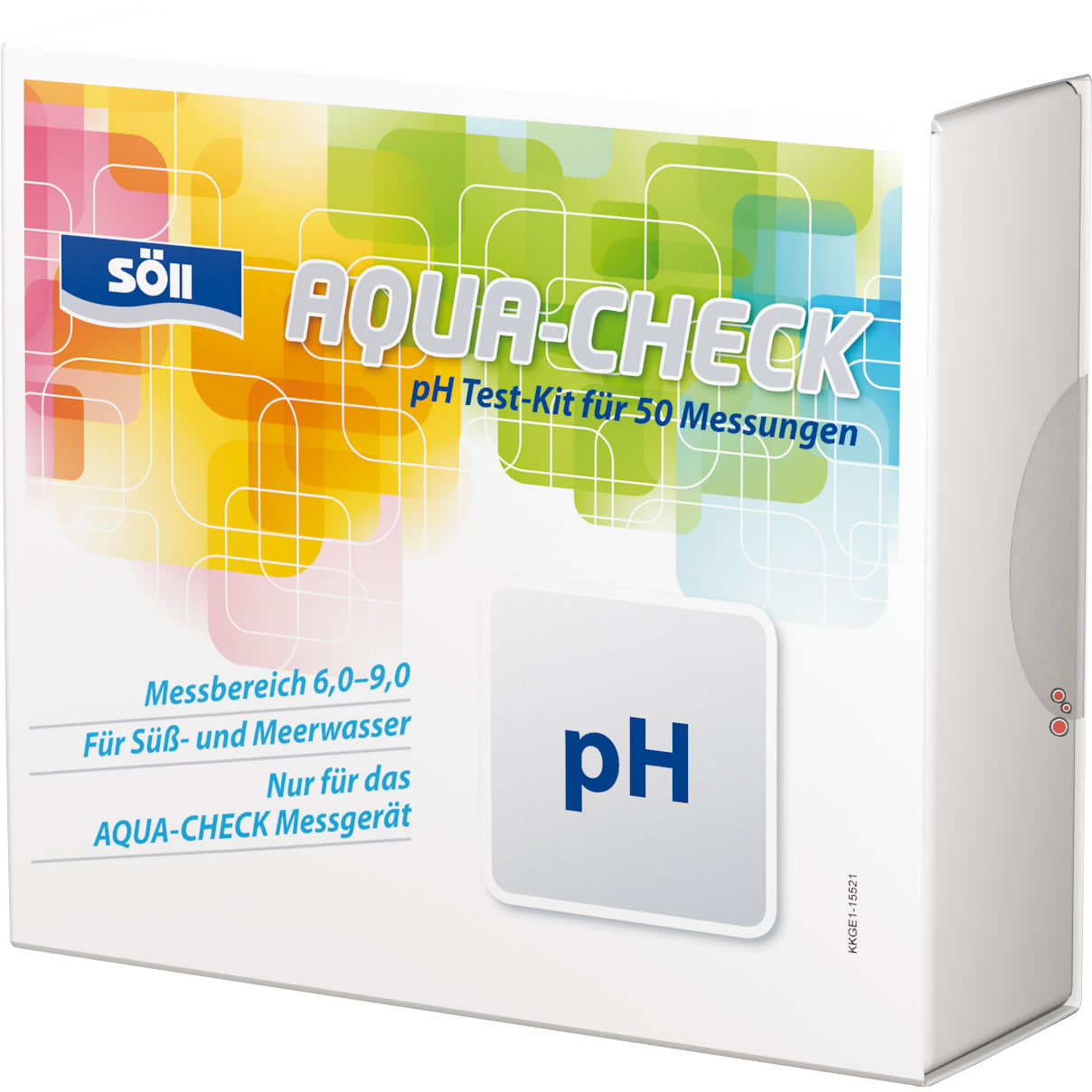 S�ll Aqua-Check pH Test Indikatoren - 50 Tests