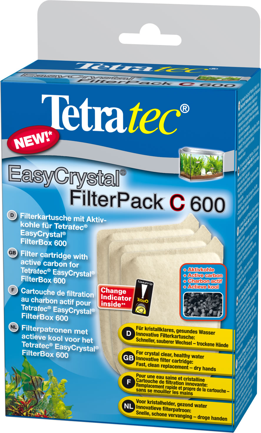 Tetratec EasyCrystal Filter Pack C mit Aktivkohle