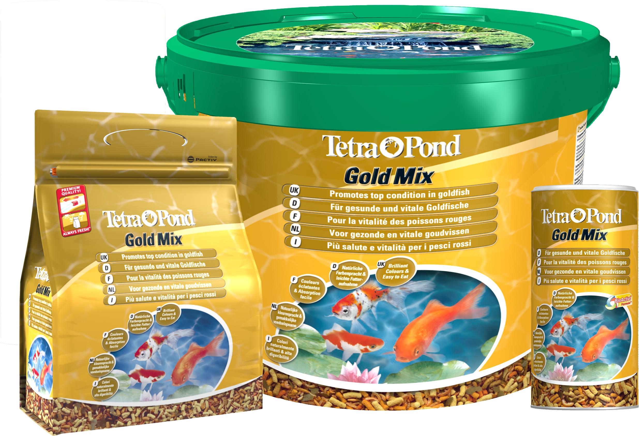 Aquaristic Net Tetra Pond Gold Mix
