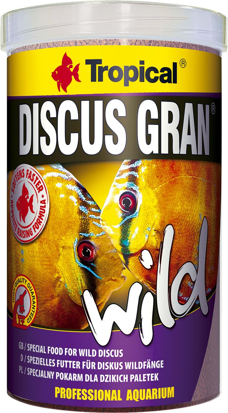 Tropical discus gran wild for Discus fish food