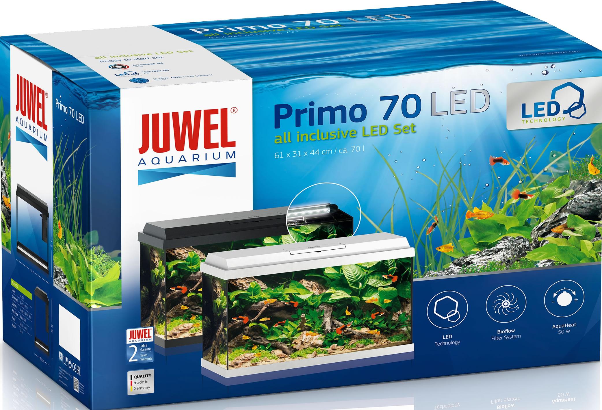 juwel primo 70 led aquarium set wei. Black Bedroom Furniture Sets. Home Design Ideas
